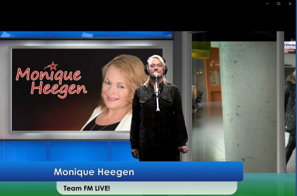 Monique Heegen live op radio Team FM - 16 november 2019